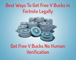 How To Get Free V Bucks No Verification Season 8 | Fortnite